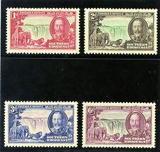Southern Rhodesia 1935 KGV Silver Jubilee set complete MNH. SG 31-34. Sc 33-36.