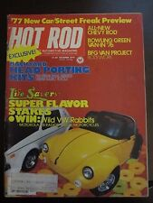 Hot Rod Magazine October 1982 Wild VW Rabbits Head Porting Kits (C1)