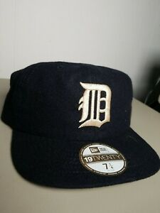 DETROIT TIGERS COOPERSTOWN COLLECTION NEW ERA 19TWENTY FITTED CAP 7 1/4