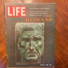 LIFE Magazine March 4 1966 ~ The Romans ~ Pied Piper of Tuscon ~  Ads (2)
