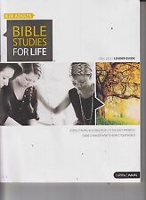 LifeWay KJV Adults Bible Studies For Life Fall 2015 Leader Guide & Study Guide