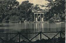 Alte Postkarte - Roma - Templo di Esculapio sul Lago di Villa Borghese