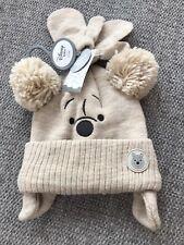 Disney Winnie l/'Ourson bébé chapeau d/'hiver et mitaines Set 0-3 ans 44-46 cm