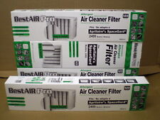 SG4-4 4 PK Air Filter Media for Aprilaire SpaceGard Air Cleaner 401 2400 MERV 11