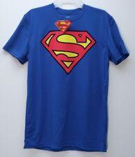 NWT - BIOWORLD Men's SUPERMAN LOGO Royal Blue S/S T-SHIRT - L
