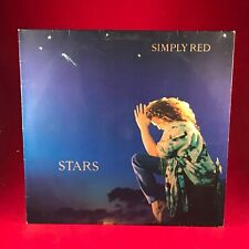 SIMPLY RED Stars 1991 UK Vinyl LP + INNER EXCELLENT CONDITION original