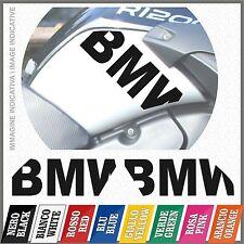 2x BMW Black Fianco Serbatoio R1200GS ADVENTURE 08-12 ADESIVI PEGATINA STICKERS