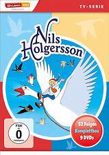 Gesamtbox NILS HOLGERSSON 52 Episodi COFANETTO COMPLETO TVSerie 9 Box DVD