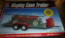 Amt Twin Axle Display Case Trailer W/Tool Chest 1/25 Model Car Mountain Kit Fs