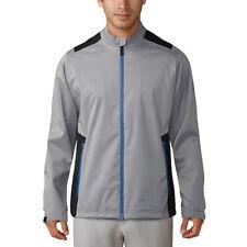 NEW Men's Golf Adidas Climaproof Heathered Rain Jacket - Choose Size