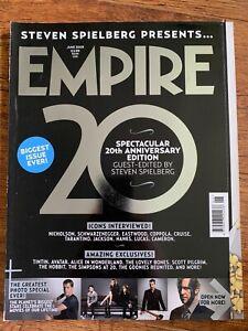 Empire June 2009 Film Magazine 20th Anniversary Issue edited by Steven Spielberg