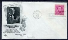 US FDC ArtCraft   SC# 960 WILLIAM ALLEN WHITE EMPORIA KANS JUL 31 1948