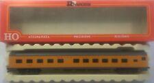 (02) RIVAROSSI 85' PULLMAN PASSENGER CAR UNION PACIFIC UP RAIL HO SCALE LIKE NEW
