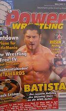 Power Wrestling 3/2005 WWE WWF TNA + 4 Poster (HHH, Cena, Lawler, Christian)