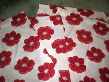 Dunelm Floral Tape Top Curtains