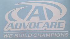 "White AdvoCare Decal Window Sticker Vinyl 22""x13"" 2445"