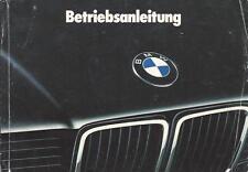 BMW E32 Betriebsanleitung 1993 7er Bedienungsanleitung  Handbuch 730 740 750 BA