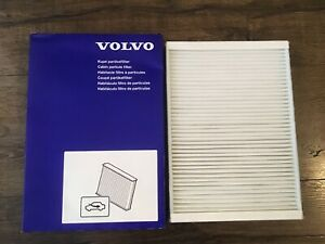 Genuine Volvo Standard Cabin Air Filter XC60 S60 S80 V70 XC70 See List NEW OEM