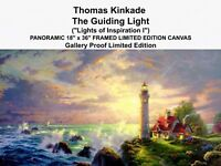 Thomas Kinkade Signed Canvas