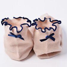 Mujer Calcetines De Algodón volantes Flor Encaje Medias Socks