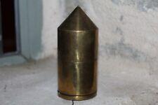 Ancien et gros FIL A PLOMB en bronze