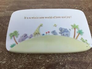 """Grasslands Road  Nursery Baby Room Decor Plaque """"It's a whole new world ...."""""""