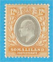 SOMALILAND PROTECTORATE 35  MINT HINGED OG *  NO FAULTS VERY FINE !