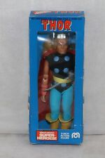 """Mego 8"""" MIB 1975 WGSH The Mighty THOR Complete ALL ORIGINAL Incl Box Nice!!"""