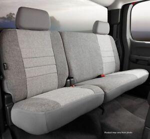 Fia OE32-19 Custom Fit Rear Seat Cover Tweed Gray Fits: 2009-2010 Ford F-150