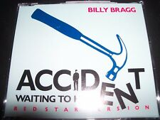 Billy Bragg : Accident Waiting to Happen CD Australian CD Single – Like New