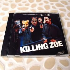 Killing Zoe: Soundtrack 1994 USA CD Mint #133-4