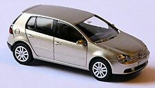 VW GOLF V 5 PORTE CONIGLIO Tipo 1K 2003-08 Argento met. 1:87 Wiking 061 01