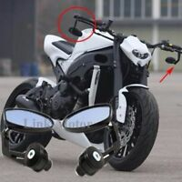 "Custom For Yamaha FZ-09 FZ-07 FZ6N Motorcycle Black 7/8"" Handle Bar End Mirrors"
