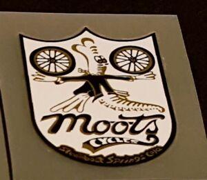 Moots Head Badge Decal