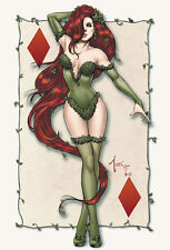Gorgeous POISON IVY Signed Lithograph by Billy Tucci