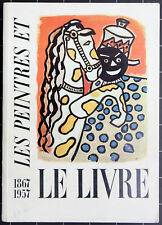 Nicolas Rauch. Les Peintres et le Livre. Catalogue No. 6. 1957.
