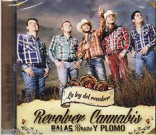 SEALED - Revolver Cannabis CD NEW Balas Rosas y Plomo LENTES Carrera BRAND NEW