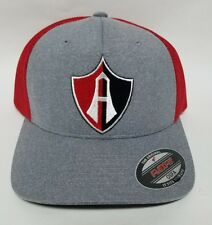 ATLAS DE GUADALAJARA I HAT FLEFIT GREY  RED  ADJUSTABLE  NEW