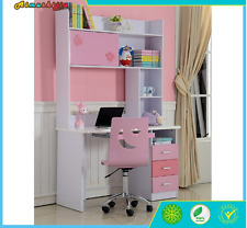 New girls Pink  study Computer STUDENT DESK only w/ DRAWER NEW in boxes