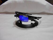 OAKLEY Bottle Rocket OO9154-13 SUNGLASSES ice Blue Polarized Lenses Black Frames