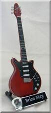 BRIAN MAY  Miniature Guitar Freddie Mercury QUEEN w/ Guitar Pick