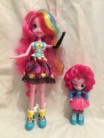 My Little Pony Equestria Girls Pinkie Pie Talking Doll And Smaller Figure