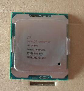 Intel Core i7-6850k CPU @ 3.6GHz (3.8GHz Turbo)- Broadwell E - X99 - LGA 2011 v3