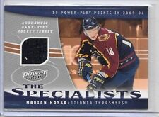 MARIAN HOSSA 2006 UD POWER PLAY THE SPECIALIST GAME USED JERSEY