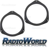 Fiat Ducato Citroen Jumper MDF Front Door Speaker Adaptors / Rings / Spacers