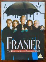 Frasier Season 2 DVD Box Set Classic US Comedy Series with Kelsey Grammer