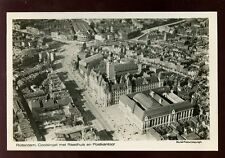 Holland Netherlands ROTTERDAM Post Office Aerial View RP PPC by KLM