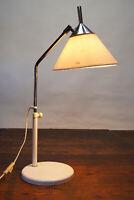 70er Tischlampe Vintage Schreibtisch Lampe Stehlampe Leuchte weiß