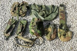 British Army Mixed Pouches - Military Tool Bag Bushcraft Survival Shooting B