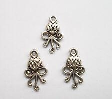 30pcs Tibetan silver  octopus charms pendant 19x11  mm